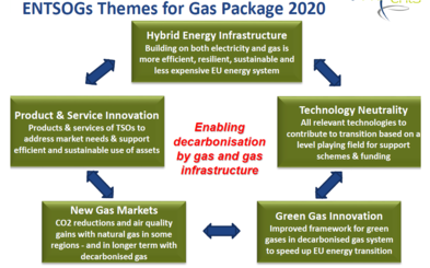 Decarbonising through gas networks – A TSO perspective